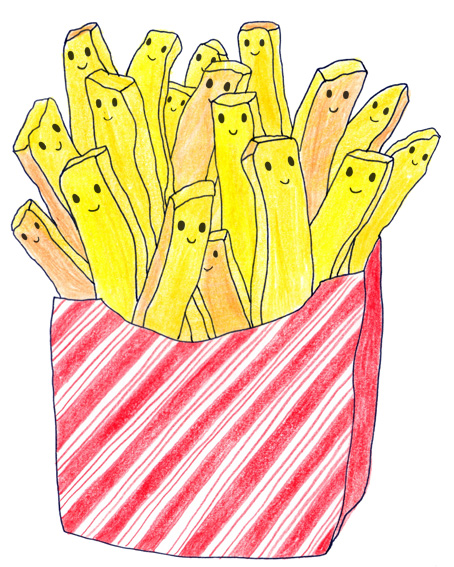 frieten patat frites french fries illustraties maastricht illustraties maastricht illustrator tekening collageeyes like sky veronique de jong illustraties maastricht illustraties maastricht illustrator tekening