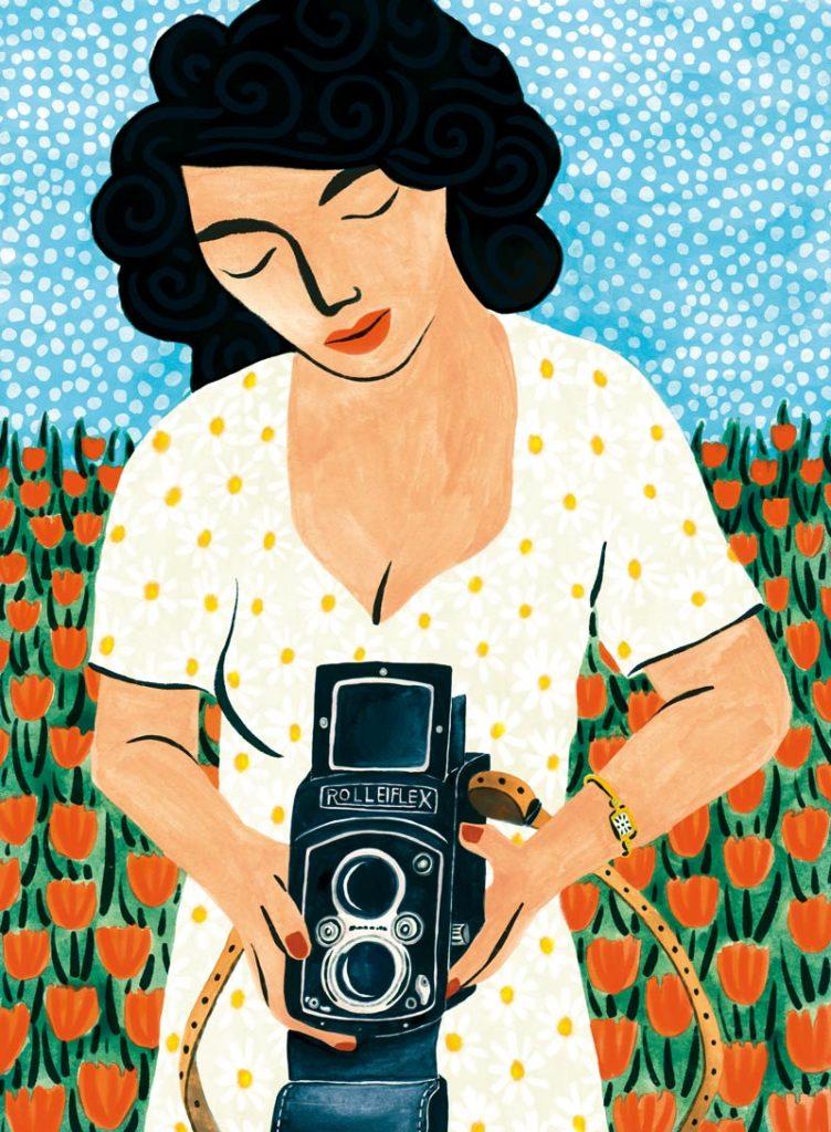 Bunny Yeager veronique de jong illustration