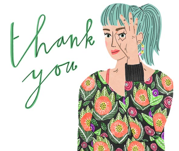 veronique de jong illustration thank you